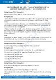 Giải bài Quy luật sinh trưởng, phát dục của vật nuôi SGK Công nghệ 10