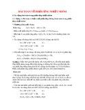 Bài toán về phản ứng nhiệt nhôm