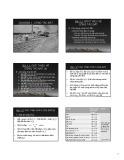 Bài giảng Kỹ thuật thi công - Chương 1: Công tác đất