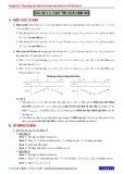 Chuyên đề 1: Ứng dụng đạo hàm để xét tính biên thiên và vẽ đồ thị hàm số - Chủ đề 1.2