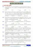 Chuyên đề 6: Toán ứng dụng - Chủ đề 6.2