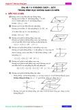 Chuyên đề 7: Hình học không gian - Chủ đề 7.3