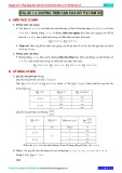 Chuyên đề 1: Ứng dụng đạo hàm để xét tính biên thiên và vẽ đồ thị hàm số - Chủ đề 1.4
