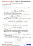 Chuyên đề 8: Phương pháp toạ độ trong không gian - Chủ đề 8.6