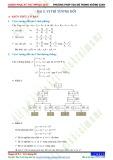 Chuyên đề 8: Phương pháp toạ độ trong không gian - Chủ đề 8.5