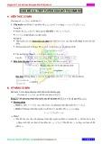 Chuyên đề 2: Các bài toán liên quán đến đồ thị hàm số - Chủ đề 2.2