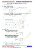 Chuyên đề 8: Phương pháp toạ độ trong không gian - Chủ đề 8.4