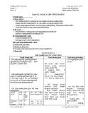 Giáo án Sinh học lớp 9 tuần 2 : Tiết 4 - THCS Nam Đà