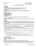 Giáo án Sinh học lớp 9 tuần 4: Tiết 7 - THCS Nam Đà