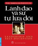 lãnh đạo và sự tự lừa dối - phần 1