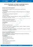 Hướng dẫn giải bài 1,2,3 trang 130 SGK Công nghệ 10