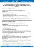Giải bài Mục đích, ý nghĩa của công tác bảo quản, chế biến nông, lâm, thủy sản SGK Công nghệ 10