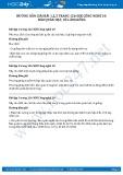 Giải bài Bảo quản hạt, củ làm giống SGK Công nghệ 10