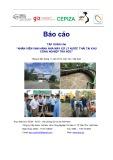 """Báo cáo tập huấn cho """"nhân viên vận hành nhà máy xử lý nước thải tại Khu công nghiệp Trà Nóc"""""""