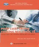 Giáo trình Pháp luật trong thương mại quốc tế - Phần 2