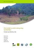 Báo cáo chuyên đề: Chi trả dịch vụ môi trường rừng tại Việt Nam