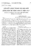 Liên kết logic trong Văn bản hợp đồng kinh tế tiếng Anh và tiếng Việt