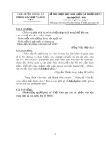 Đề thi HSG cấp huyện đợt 1 môn Ngữ văn lớp 9 năm 2015-2016 - Phòng GD&ĐT Lương Tài - Đề số 4