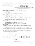 Đề thi HSG cấp huyện đợt 1 môn Toán lớp 9 năm 2015-2016 - Phòng GD&ĐT Lương Tài - Đề số 5