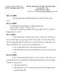 Đề thi HSG cấp huyện đợt 1 môn Hoá học lớp 9 năm 2015-2016 - Phòng GD&ĐT Lương Tài - Đề số 11