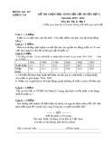 Đề thi HSG cấp huyện đợt 1 môn Địalý lớp 9 năm 2015-2016 - Phòng GD&ĐT Lương Tài - Đề số 15