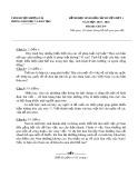 Đề thi HSG cấp huyện đợt 1 môn GDCD lớp 9 năm 2015-2016 - Phòng GD&ĐT Lương Tài - Đề số 2