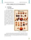Đề tài: Công nghệ sản xuất bánh donut