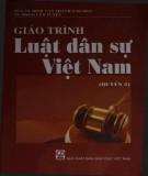 Giáo trình Luật Dân sự Việt Nam (Quyển 2): Phần 1