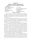 Bài dự thi: Tìm hiểu lịch sử quan hệ đặc biệt Việt Nam - Lào, Lào - Việt Nam năm 2017 - Phạm Ngọc Khánh