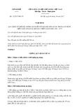 Nghị định số 112/2017/NĐ-CP