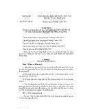 Nghị định số 52/2017/NĐ-CP