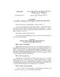 Nghị định số 91/2017/NĐ-CP