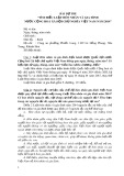 Bài dự thi: Tìm hiểu luật hôn nhân và gia đình nước cộng hoà xã hội chủ nghĩa Việt Nam năm 2014
