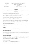 Nghị định số 83/2017/NĐ-CP