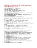 100 cấu trúc và cụm từ tiếng Anh quan trọng ôn thi THPT Quốc Gia
