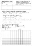 Đề kiểm tra chất lượng giữa HK 1 môn Toán lớp 5 năm 2017-2018 - TH Viên Nội