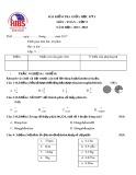 Đề kiểm tra giữa HK 1 môn Toán lớp 5 năm 2017-2018 - Trường Song Ngữ Quốc Tế
