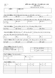 Đề kiểm tra giữa HK 1 môn Toán lớp 5 năm 2017-2018
