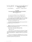 Quyết định số 46/2016/QĐ-TTg