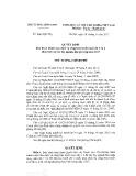 Quyết định số 846/QĐ-TTg/2017
