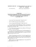 Quyết định số 12/2017/QĐ-TTg