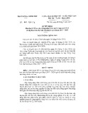 Quyết định số 676/QĐ-TTg/2017