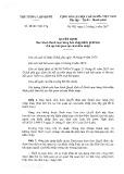 Quyết định số 15/2017/QĐ-TTg