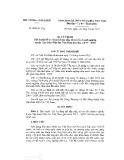 Quyết định số 852/QĐ-TTg/2017
