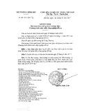 Quyết định số 10/2017/QĐ-TTg