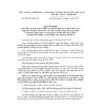 Quyết định số 32/2017/QĐ-TTg