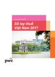 Sổ tay thuế Việt Nam 2017