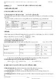 Hệ thống kiến thức Hóa học lớp 10 (Chương trình Cơ bản và Nâng cao)