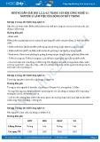Hướng dẫn giải bài 1,2,3,4,5 trang 103 SGK Công nghệ 11