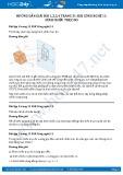 Giải bài Hình chiếu trục đo SGK Công nghệ 11